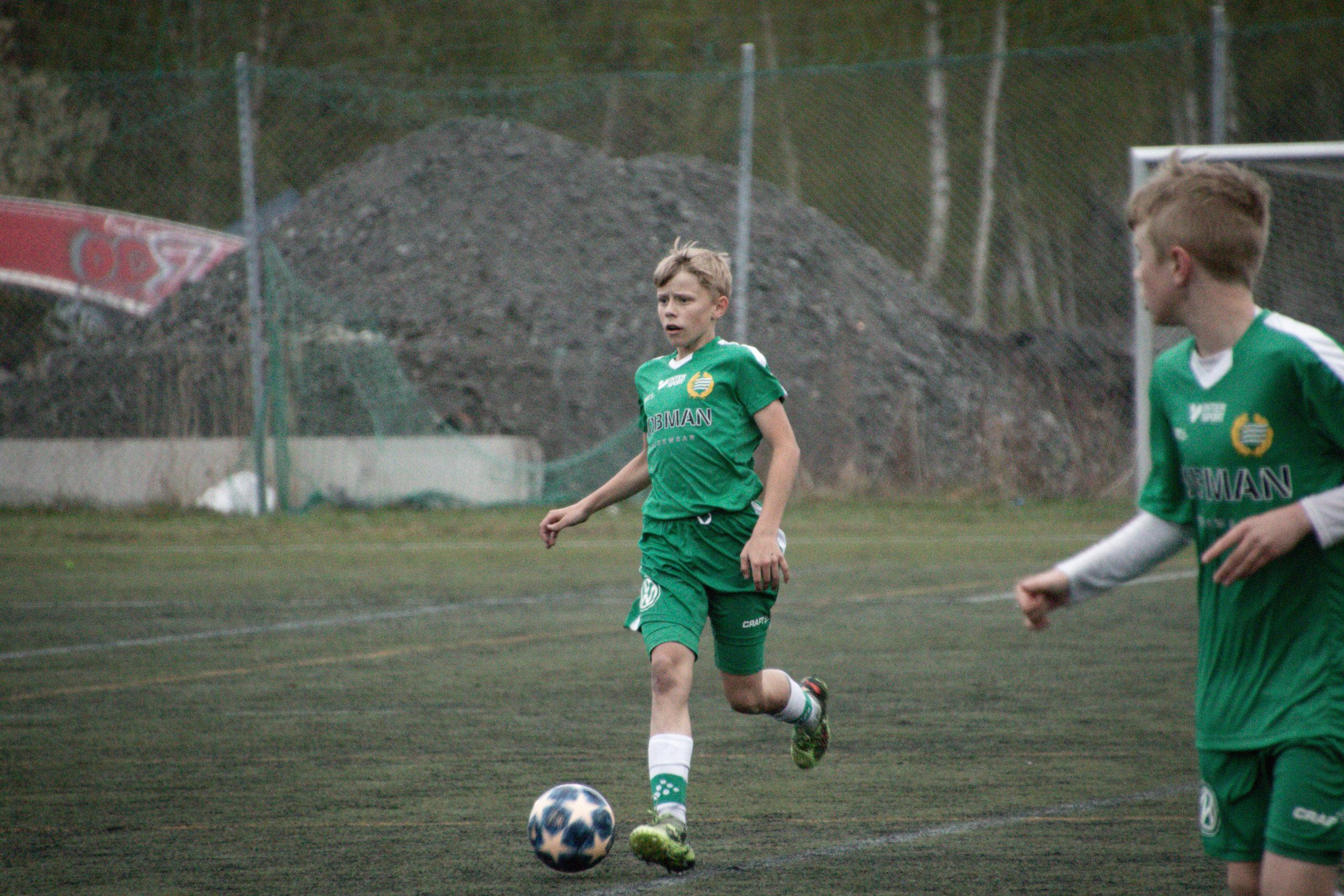 Några av Stockholms bästa 06-lag spelade fin fotboll i elvamanna-cup: Hammarby imponerade stort