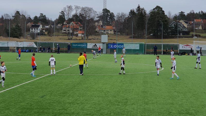 Nystartade Maj FC P07 imponerade mot IFK Stocksund P06A