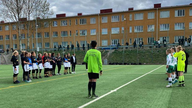 """AIK F14 Akademi besegrade Hammarby F14 i hett Sanktanderby: """"Jämn match mellan två spelskickliga lag"""""""
